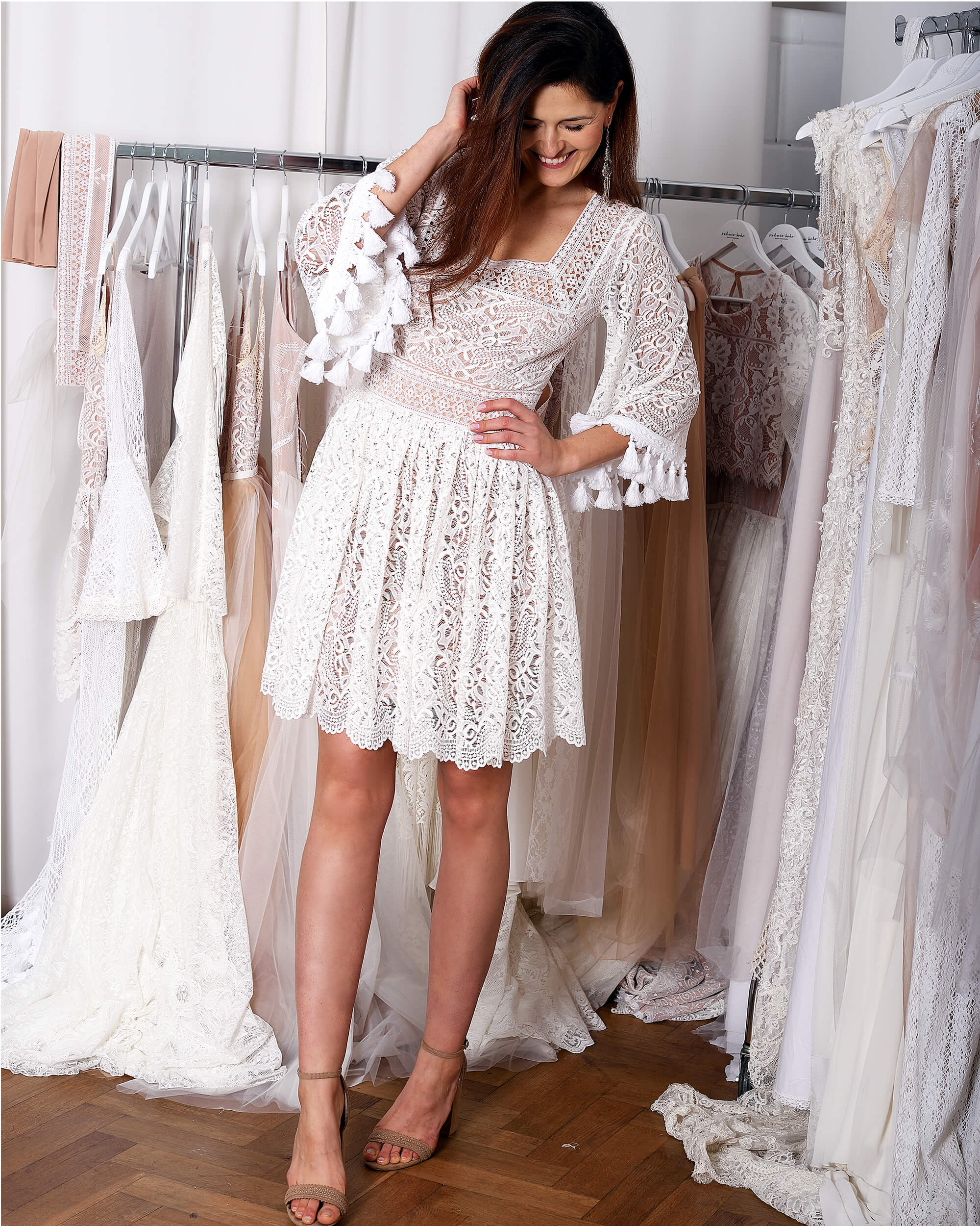 Krótkie sukienki ślubne - tak czy nie?