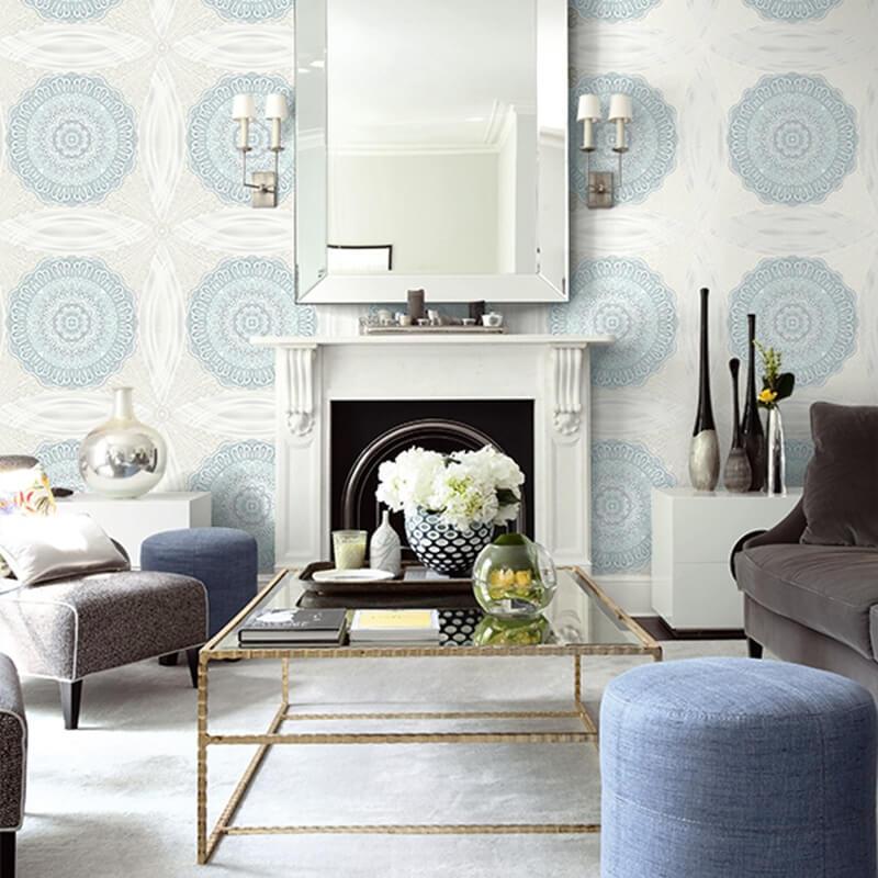 Kilka pomysłów na tapetę w dekorację w twoim domu